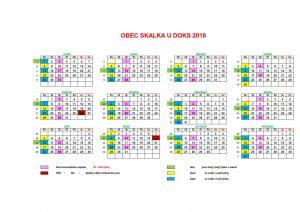 TKO - Skalka u Doks kalendář 2018_1